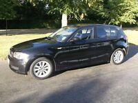 BMW 116i - Black 5 door Hatchback - 72k Miles
