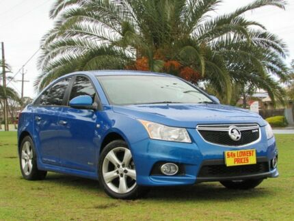 2011 Holden Cruze JH Series II MY11 SRi-V Blue 6 Speed Manual Sedan Hendon Charles Sturt Area Preview
