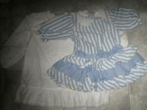 TWO BEAUTIFUL SIZE 2T LITTLE TOTS OUTFITS...