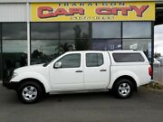 2009 Nissan Navara ST-X D40 MANUAL White 6 Speed Manual Dual Cab Traralgon Latrobe Valley Preview