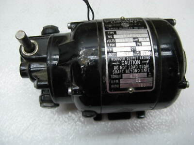 Used Bodine Gear Motor Nse-11r  1801 Ratio Very Good Used Condition
