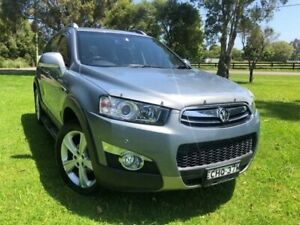 2012 Holden Captiva CG Series II 7 LX (4x4) Grey 6 Speed Automatic Wagon Tuggerah Wyong Area Preview