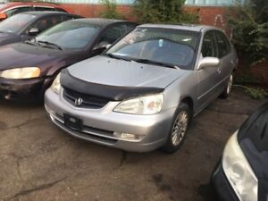 2002 Acura EL Limited Limited Limited