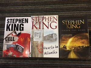STEPHEN KING Hardcover Books for sale - $5 each or 5 for $20.
