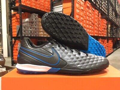 Nike Men's Legend 8 Pro TF Soccer Shoes (Black/Black-Blue Hero) Size: 6-13 NEW!