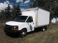 2011 Chevrolet Express Cube Van 12 Foot Box W/ LIFT