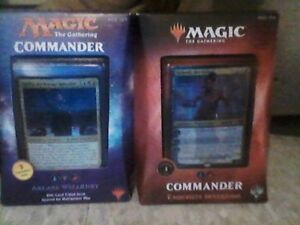 over 100 packs of cards 900 magic cardfor 450! commander decks !