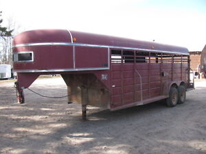 Used Stock Trailer