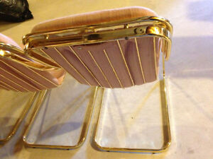 Vintage Italian made Golden Brass Chairs (Set of 4) Cambridge Kitchener Area image 3