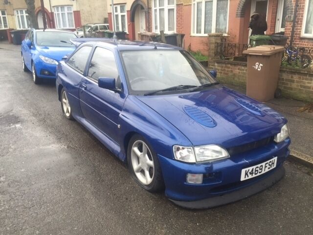 1993 mk3 ford escort rs 2000 cosworth 4x4 turbo full wide arch bodykit replica conversion. Black Bedroom Furniture Sets. Home Design Ideas