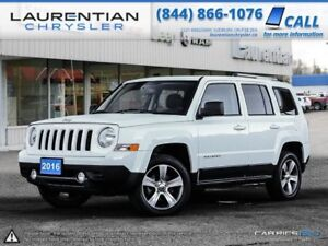 2016 Jeep Patriot Sport-4X4, LEATHER, HEATED SEATS, A MUST SEE!