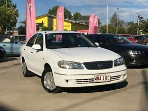 2005 Nissan Pulsar N16 MY2004 ST White 4 Speed Automatic Sedan South Toowoomba Toowoomba City Preview