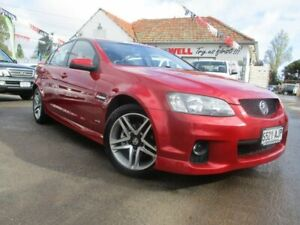 2010 Holden Commodore VE II SV6 Burgundy 6 Speed Sports Automatic Sedan Gepps Cross Port Adelaide Area Preview