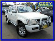 2003 Toyota Hilux KZN165R SR5 (4x4) White 5 Speed Manual 4x4 Dual Cab Pick-up Penrith Penrith Area Preview