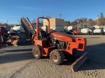 2011 Ditch Witch Rt45 Twh314 Trencher 704 Orig Hours Fresh -paint Work Ready
