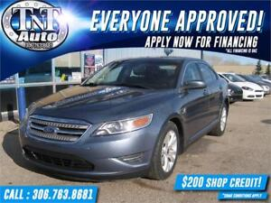 2010 Ford Taurus SLE ALL WHEEL DRIVE!  DRIVE AWAY TODAY!!!
