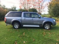 Ford Ranger 3.0L Thunder 2WD or 4WD Diesel Auto 2008/58 plate, new cam belt. 12mths MOT