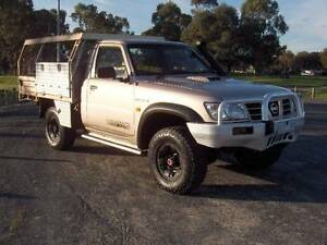 06 NISSAN PATROL GUII DX INTERCOOLED T/DIESEL C/CHASSIS TRAY UTE! Mordialloc Kingston Area Preview