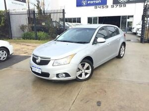 2014 Holden Cruze JH MY14 Equipe Silver 6 Speed Automatic Hatchback Beckenham Gosnells Area Preview