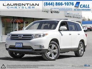 2013 Toyota Highlander Limited-WHAT ROAD TRIPS WERE INTENDED TO