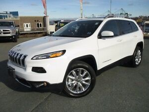 2016 Jeep CHEROKEE Limited 4X4 (ONLY 10K, LEATHER, PANORAMIC ROO