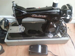 @1950 riviera precision sewing machine