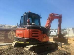 Hitachi Excavator ZX 60USB-3F Archerfield Brisbane South West Preview