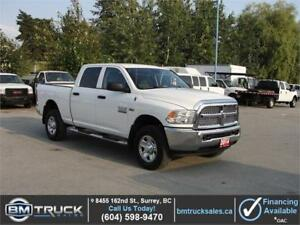 2014 DODGE RAM 2500 CREW CAB SHORT BOX 4X4 *HEMI*