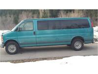1999 3500 EXPRESS CARGO VAN (ONE TON) FIRST $4,900 FRESH SERVICE