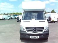 Mercedes-Benz Sprinter 313 LWB LONG LUTON EURO 5 DIESEL MANUAL WHITE (2014)