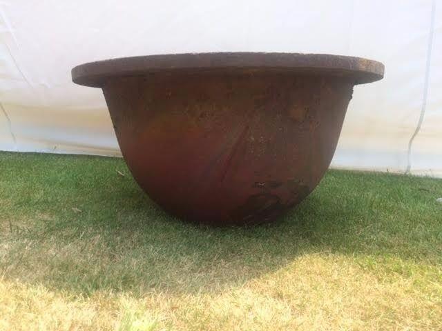 Garden Pot Heavy Cast Iron Crucible