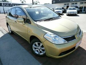 2007 Nissan Tiida C11 MY07 ST-L Gold 4 Speed Automatic Hatchback Victoria Park Victoria Park Area Preview