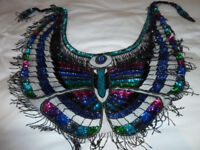Vintage beaded shawl