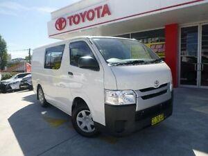2014 Toyota Hiace TRH201R MY14 LWB French Vanilla 4 Speed Automatic Van Allawah Kogarah Area Preview