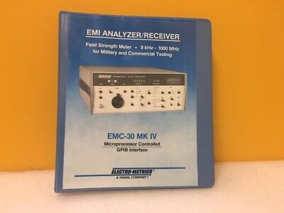 Electro-metrics Emc-30 Mk Iv Microprocessor Controlled Gpib Interface