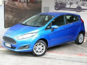 2015 Ford Fiesta WZ MY15 Trend Blue 5 Speed Manual Hatchback Doncaster Manningham Area Preview