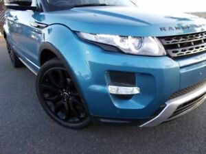 2012 Land Rover Range Rover Evoque L538 MY12 TD4 CommandShift Prestige Mauritius Blue 6 Speed