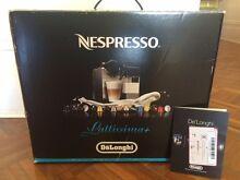 DeLonghi Silver Lattissima Plus Nespresso Capsule System EN520L Unley Park Unley Area Preview