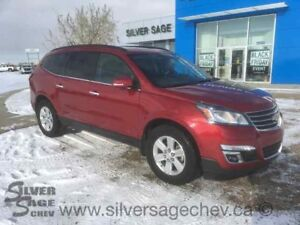 2014 Chevrolet Traverse 2LT AWD Heated Leather, 7 Pa