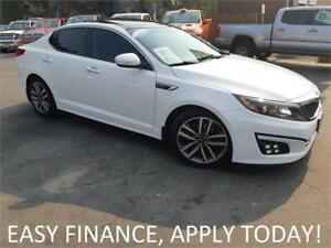 2015 Kia Optima SX Turbo BSM! NAV! PANO ROOF! H & C LEATHER!