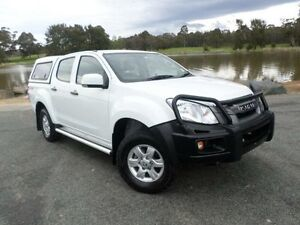 2013 Isuzu D-MAX TF MY12 SX HI-Ride (4x4) White 5 Speed Automatic Crewcab Belconnen Belconnen Area Preview