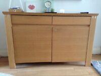 Sideboard Solid Oak, bought from Harrods