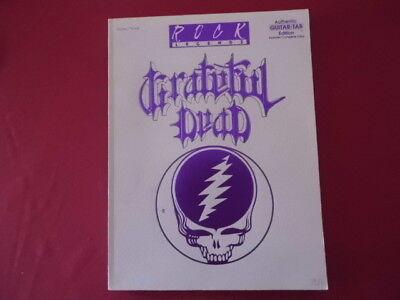 Gratefuld Dead - Rock legends . Songbook Notenbuch Vocal Guitar