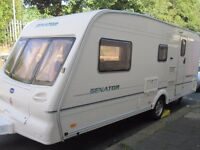 Bailey Senator Four Berth Touring Caravan