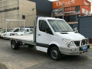 2013 Mercedes-Benz Sprinter 906 MY12 516CDI LWB White 6 Speed Manual Cab Chassis Revesby Bankstown Area Preview