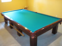 Pro 6x12  Brunswick Pool Table