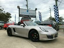 2012 Porsche Boxster 981 Silver 6 SPEED Manual Convertible Southport Gold Coast City Preview