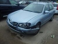 Nissan Almera 1.5 N/S Wing In Blue Breaking For Parts (2004)