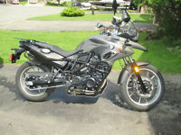 BMW F700GS - It's not like new. It is new.