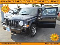 2010 Jeep Patriot Sport, $35/Weekly, NO PAYMENTS UNTIL 2016